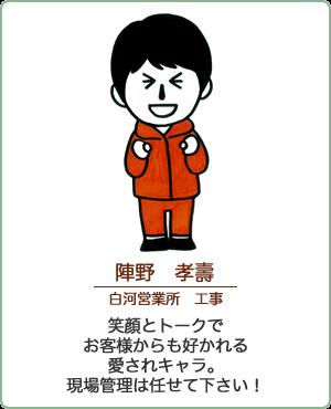 陣野 孝壽