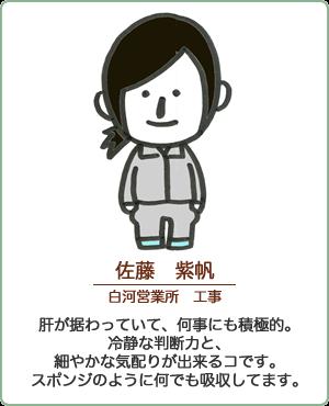 佐藤 紫帆